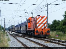 CP 1551 with Opel Train 210511 by Comboio-Bolt