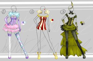 Adoptable: Cirque Couture [Closed] by Ishicle