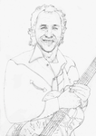 Mark Knopfler National Guitar Style O SKETCH by Yankeestyle94