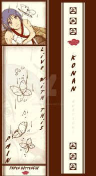 Young Konan Bookmark by Quiss