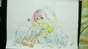 Jibril- No Game No Life by AddictPhoda
