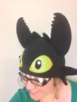 Toothless With Teeth by Kai45