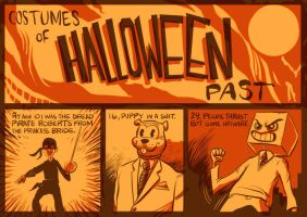 The Costumes of Halloween Past by Uncle-White