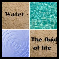 Water collage by Seraena