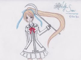 .:Commission:. Vampire Knight- Lily Snow by RikaYoru