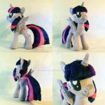 Twilight Sparkle Alicorn Plush by TheGrillosLab