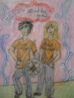 Percabeth Entry- Coloured by LadyLewind