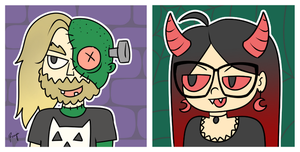 Spoopy icons by ronjaw
