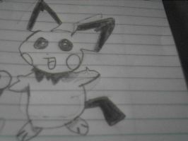 My Drawing of Pichu by Teamscout11