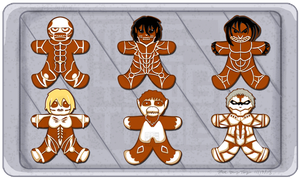 Attack on Gingerbread by MaeMaeTwin