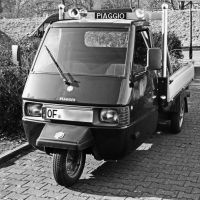 Piaggio three-wheeler by UdoChristmann
