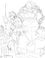 Oh Bowser, look! It's you! - Unfinished by RMPSI