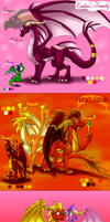 Flame and Ember's Families by Seeraphine