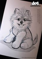 Dog Caricature by timmcfarlin