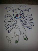 Inktober Day 7 by Fgpinky123