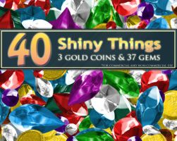 40 Shiny Things by MoldyMuffinz