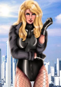 Black Canary by ExoroDesigns