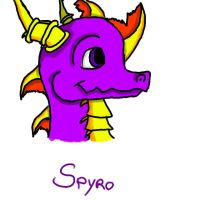 Spyro by Gamelady12