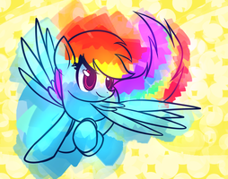 Rainbow Splash by Mister-Markers