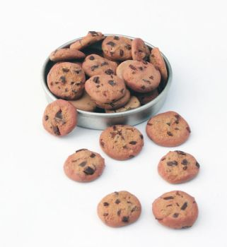 Mini Chocolate Chip Cookies by Bon-AppetEats
