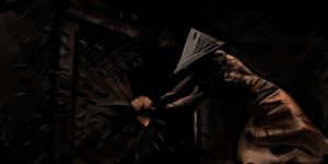 Pyramid Head SpeedPaint by TheChaoticKnight