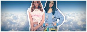 Marina And The Diamonds And Lana Del Rey by Nesttles