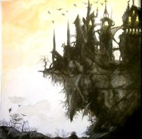 Decadent Castle by L3lith