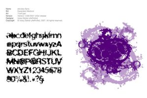 Font for ski rules by loosy