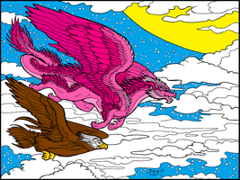 Faith Dragons Born From His Pink Scales by Serenity--Fantasy
