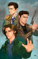Supernatural - Men at Arms by Radiant-Grey