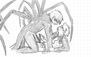 APH - caught in his web by aide-memoire