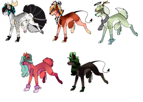 CLOSED Adoptable Batch 2 by C0smIIc