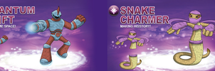 Skylander OCs: SWAP Force - Magic by Proceleon