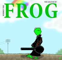 The Frog in Black by UncleScooter