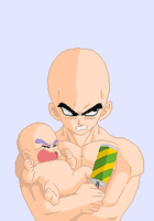 Vegeta with Trunks base by Furipa93