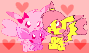 Pink Family? by HeartinaThePony