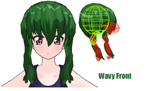 MMD- Front waves.2 -DL by MMDFakewings18