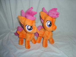 Scootatwo by PlanetPlush