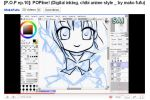 .:Sailor Saturn Inking Video:. by Mako-Fufu