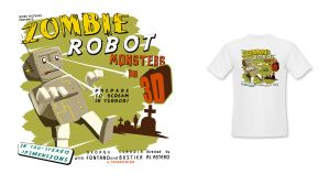 B Movie T-shirt Design by InvisibleSnow