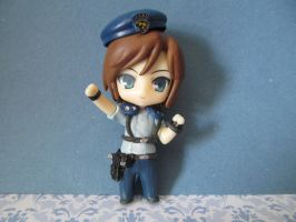 Custom Nendoroid - RE1 - Jill Valentine by Shakahnna