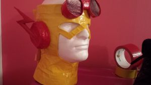 Young Justice Kid Flash mask 2 by Godlovesyou772