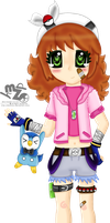 :PE: Mini Trainer Maggie by Hinachuu