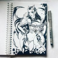 Instaart - Akasha (NSFW on Patreon) by Candra