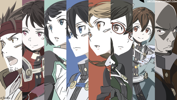 Sword Art Online - Ordinal Scale [Vector] by Arcuzen