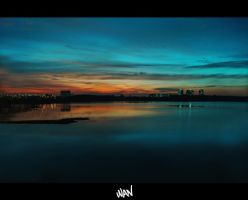 Mysterious Lake by Thanwan
