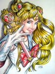Sailor Moon by kake07