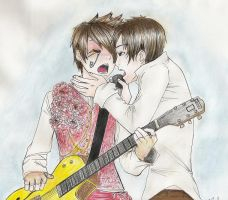 PATD's Brendon and Ryan by r-ingo
