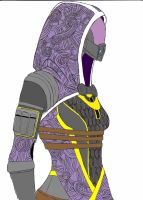 Tali Zorah Vas Normandy by Wolfang77