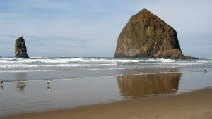 Haystack rock by adderx99